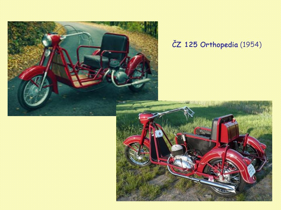 ČZ 125 Orthopedia (1954)