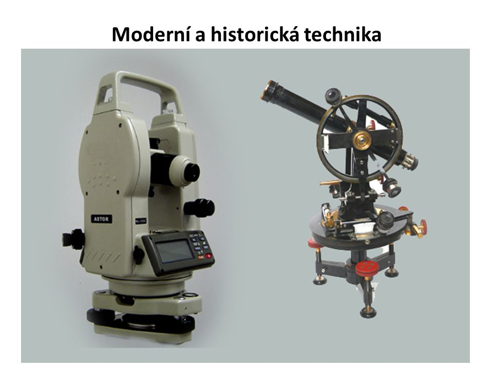 Moderní a historická technika