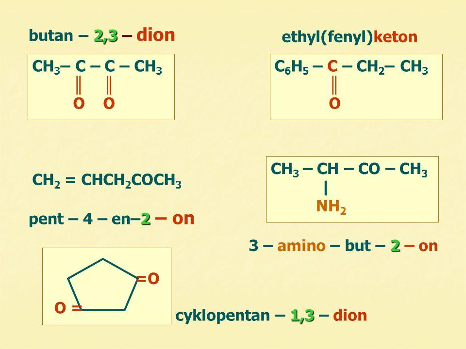 H  H 3 C – CH – C = O  H δ–δ– δ+δ+ δ+δ+ – I efekt – I efekt kyselý podmínky  přítomnost α - vodíku  zásadité prostředí H  H 3 C – CH – C = O ө + OH – + OH – vzniká karbanion aduje se na C ve – CHO jiného aldehydu δ+δ+ II.) reakce vodíku na II.) reakce vodíku na α – uhlíku aldol