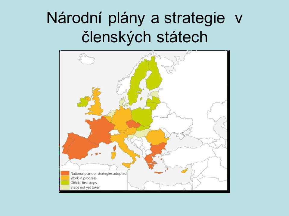 Národní plány a strategie v členských státech