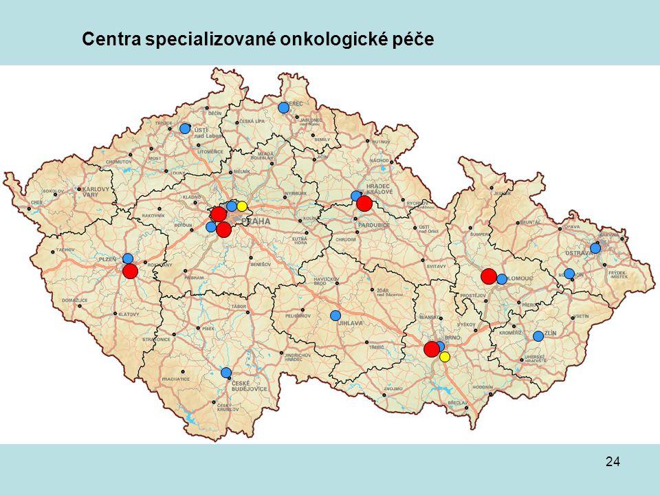 24 Centra specializované onkologické péče