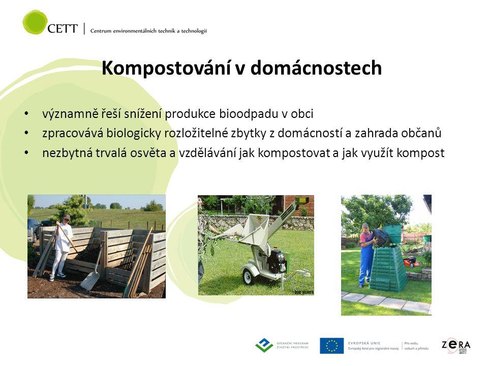 Co získáme komunitním (obecním) kompostováním .