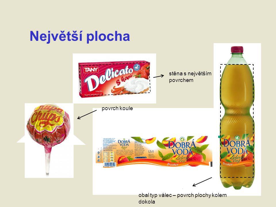 Povinné údaje povinná velikost písma povinný český jazyk různé pole a seskupení (stejné zorné pole) slovy a čísly - není možné je nahradit symboly, piktogramy nebo obrázky – jen navíc
