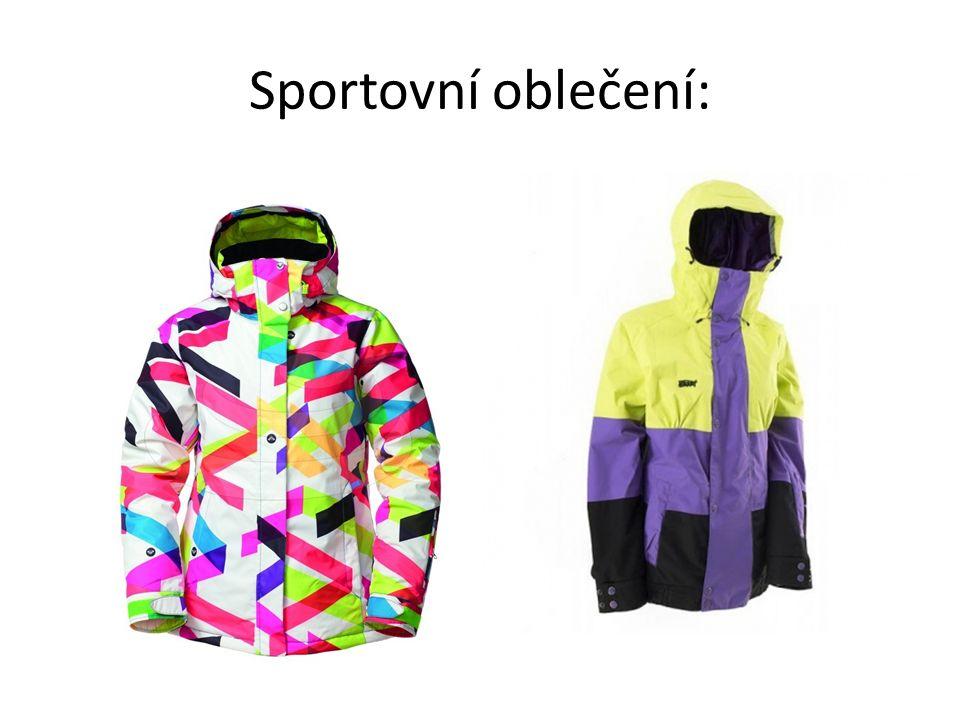 Sportovní oblečení: