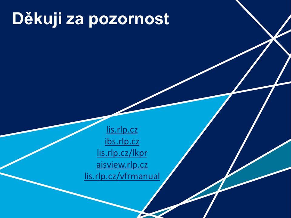 31 Děkuji za pozornost lis.rlp.cz ibs.rlp.cz lis.rlp.cz/lkpr aisview.rlp.cz lis.rlp.cz/vfrmanual