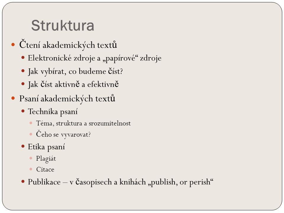 Články v časopisech P ř íjmení autora, K ř estní jméno.
