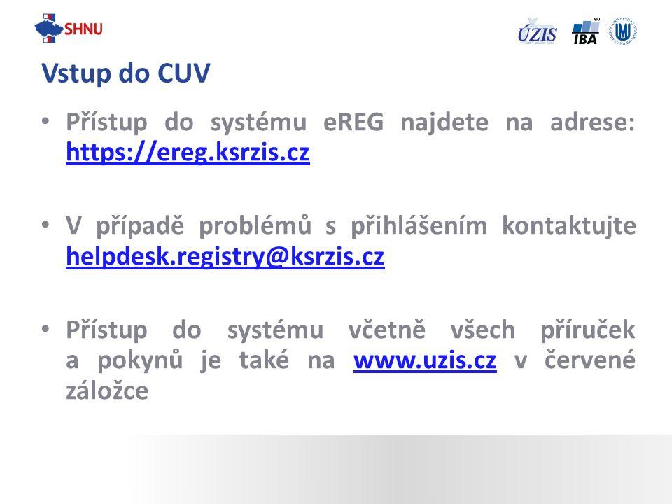 Přístup do systému eREG najdete na adrese: https://ereg.ksrzis.cz https://ereg.ksrzis.cz V případě problémů s přihlášením kontaktujte helpdesk.registr