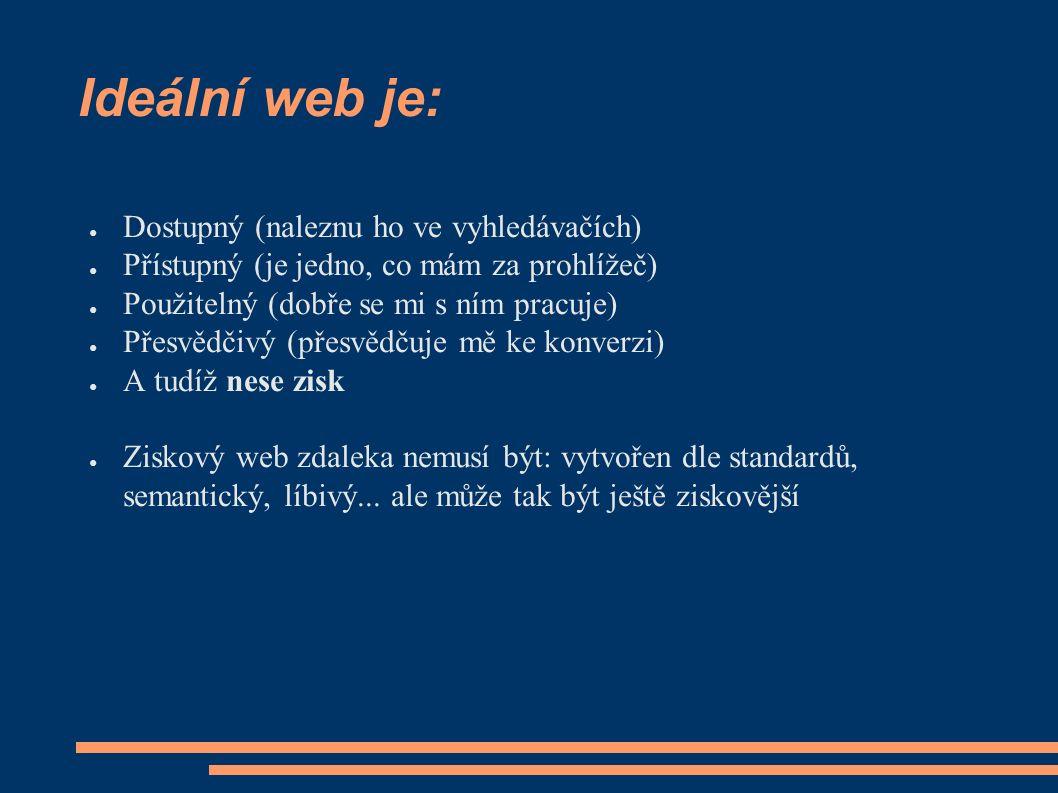 Vynulování CSS ● Problém: Každý prohlížeč má svou vlastní sadu přednastavených vlastností a každý je má přednastavené trochu jinak ● tj.