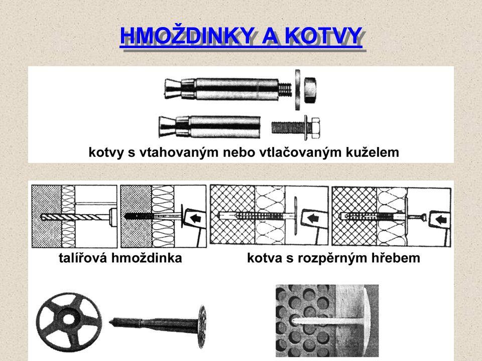 HMOŽDINKY A KOTVY 1.