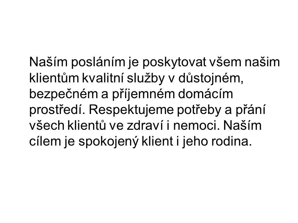 Poskytované služby Dle zákona č.