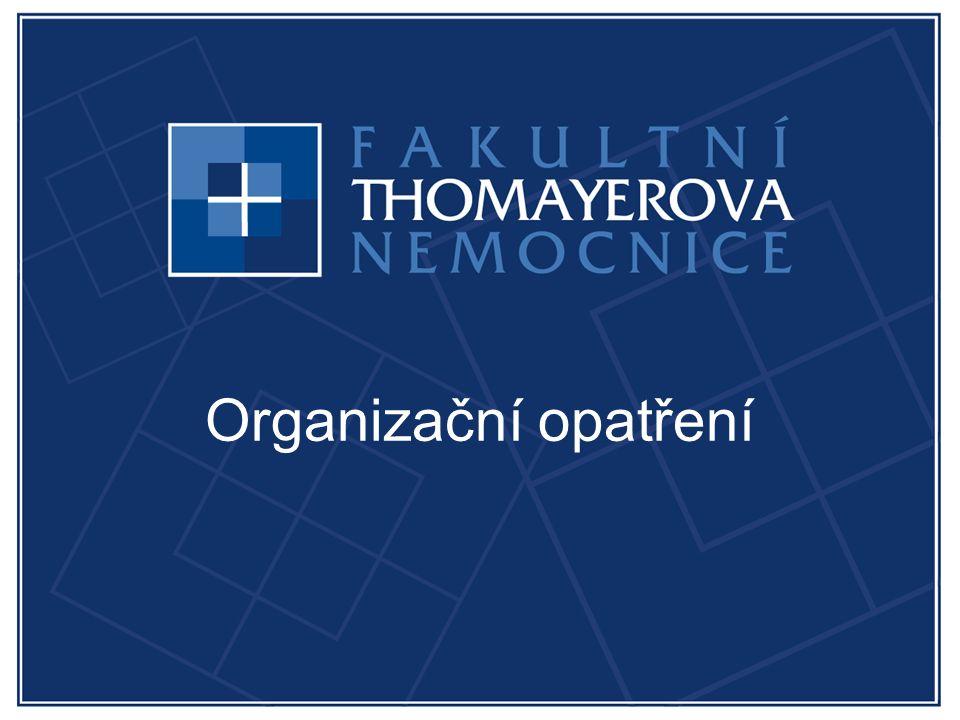 Organizační opatření