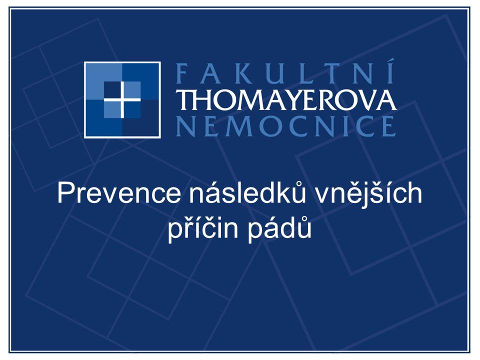 Prevence následků vnějších příčin pádů