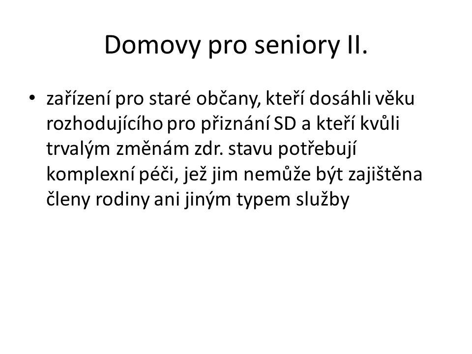 Domovy pro seniory II.