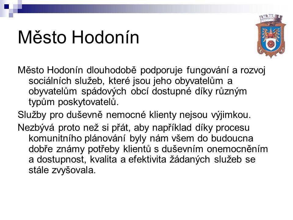 Město Hodonín Město Hodonín dlouhodobě podporuje fungování a rozvoj sociálních služeb, které jsou jeho obyvatelům a obyvatelům spádových obcí dostupné