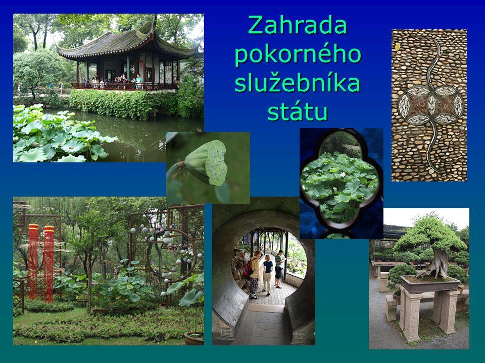 Zahrada pokorného služebníka státu