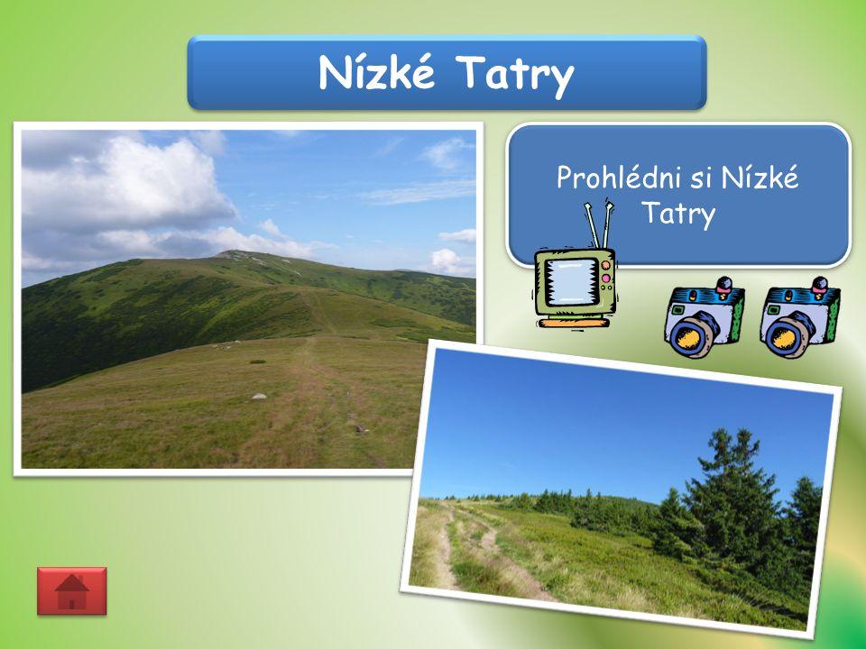 Nízké Tatry Prohlédni si Nízké Tatry