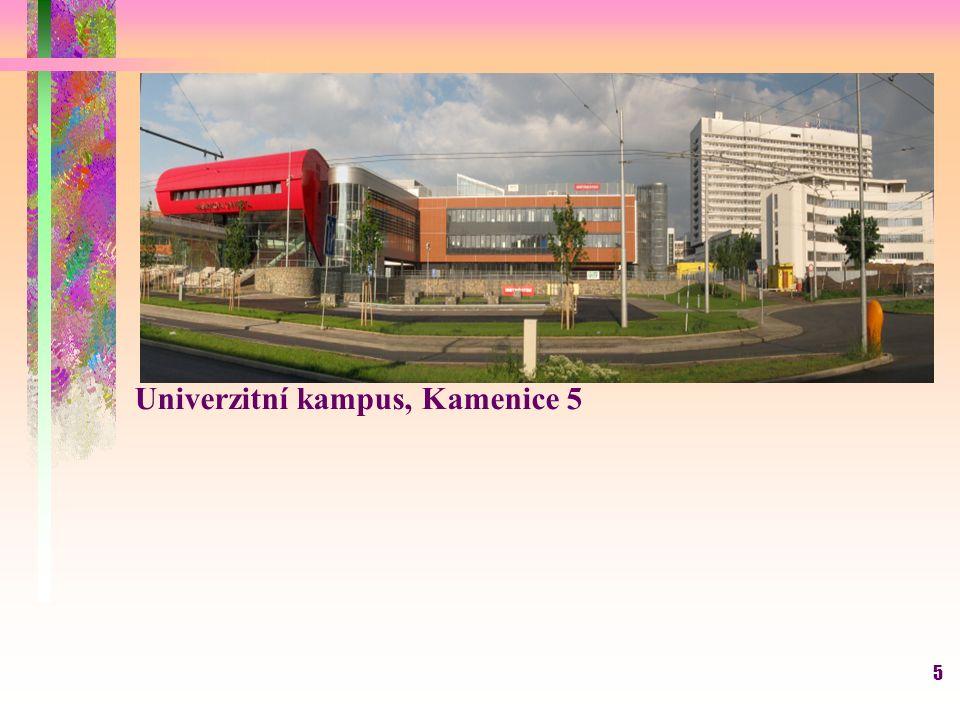 5 Univerzitní kampus, Kamenice 5