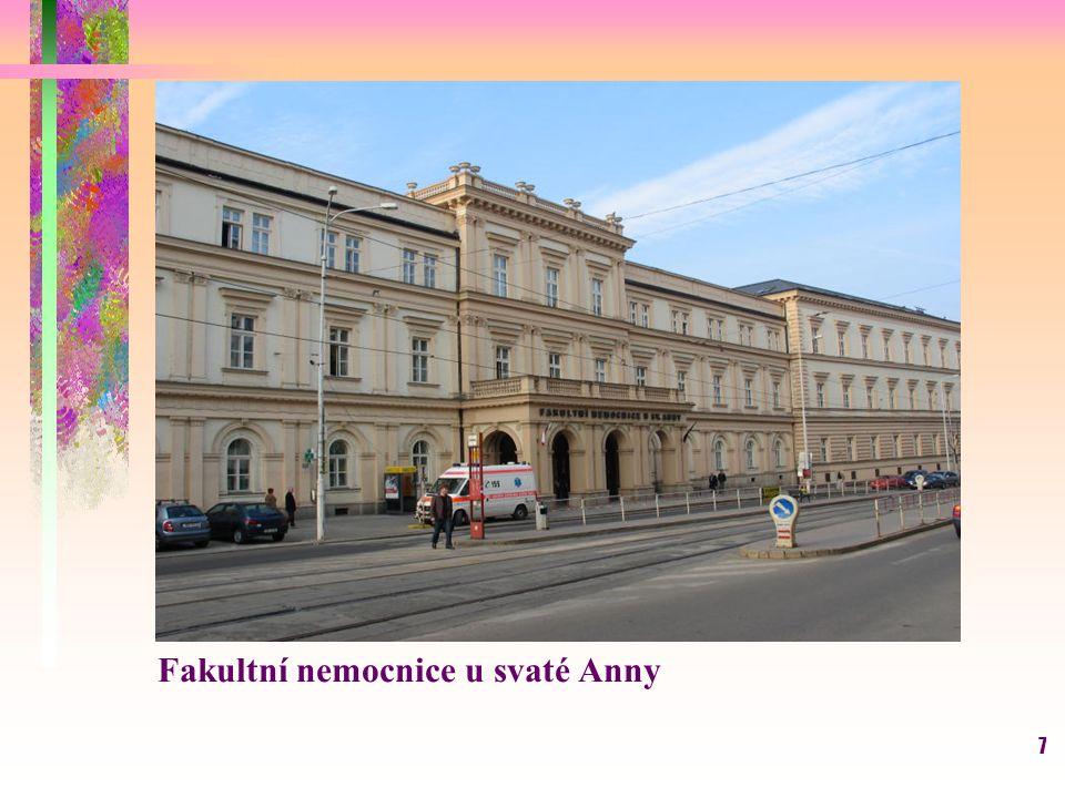 7 Fakultní nemocnice u svaté Anny