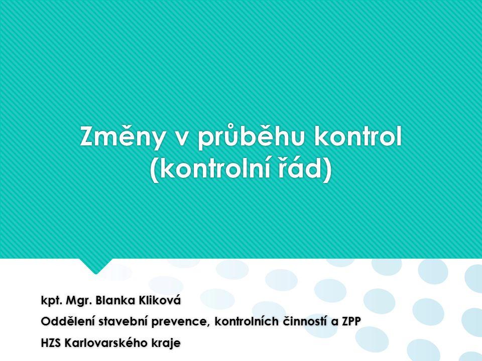 Kontrolním řádem a zákonem č.