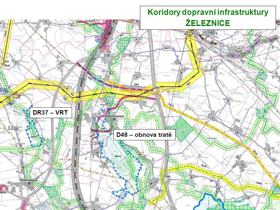 Koridory dopravní infrastruktury ŽELEZNICE DR37 – VRT D48 – obnova tratě