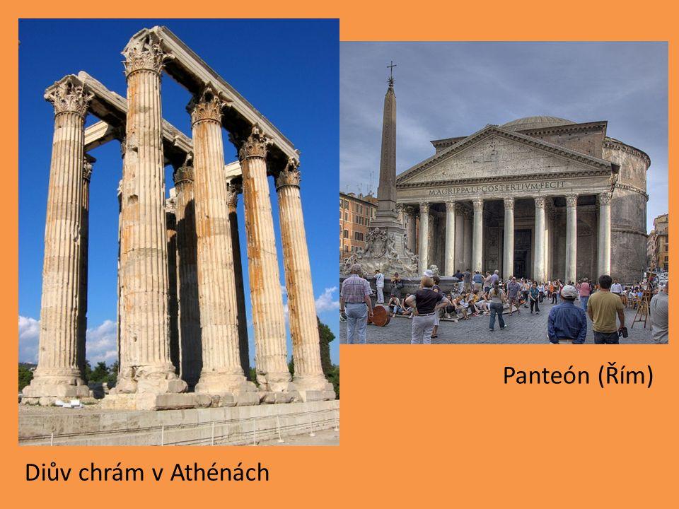 Diův chrám v Athénách Panteón (Řím)