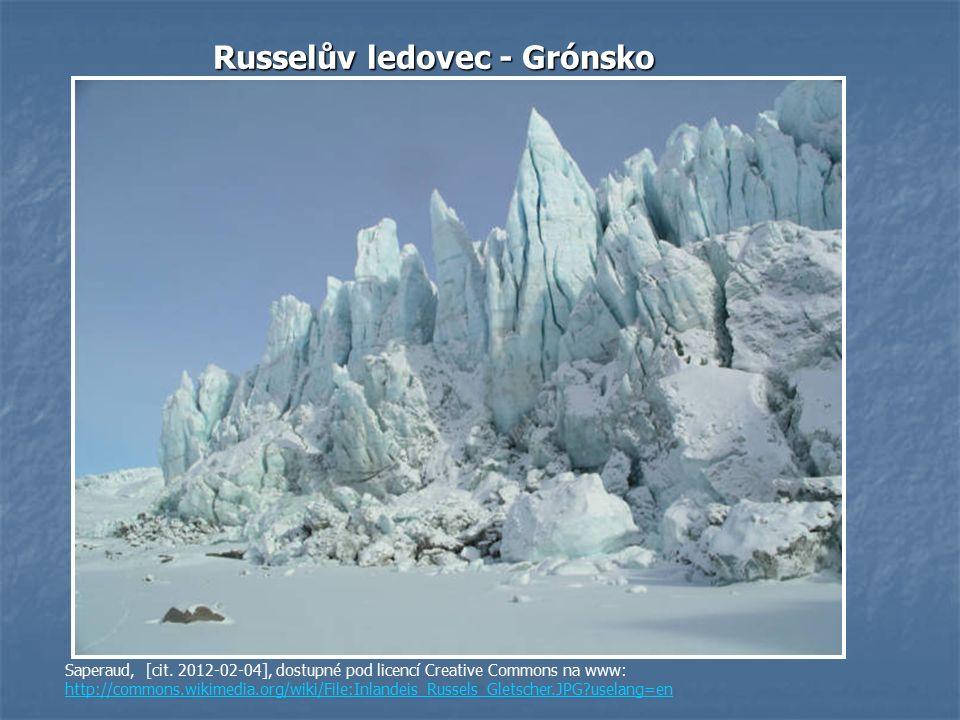 Russelův ledovec - Grónsko Saperaud, [cit.