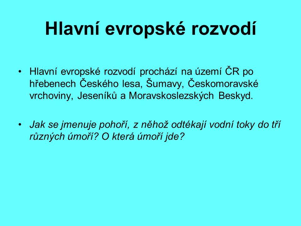 Slepé rameno Vltavy u Českých Budějovic