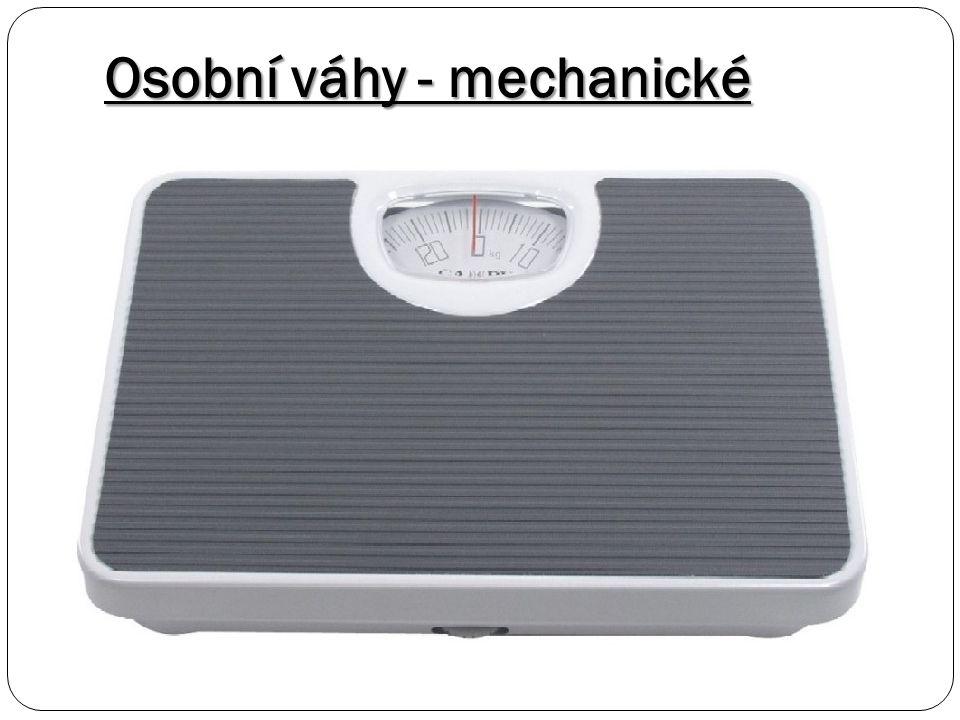 Osobní váhy - mechanické
