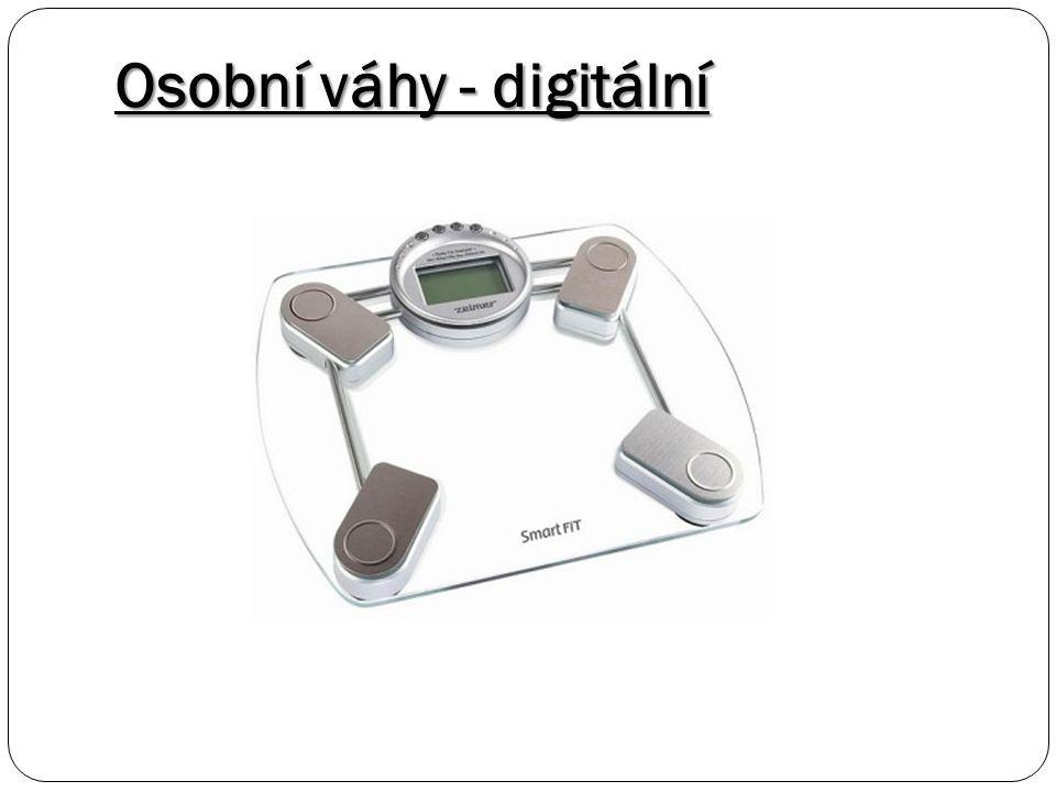 Osobní váhy - digitální