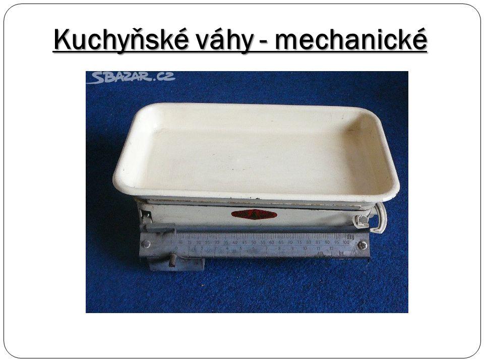 Kuchyňské váhy - mechanické