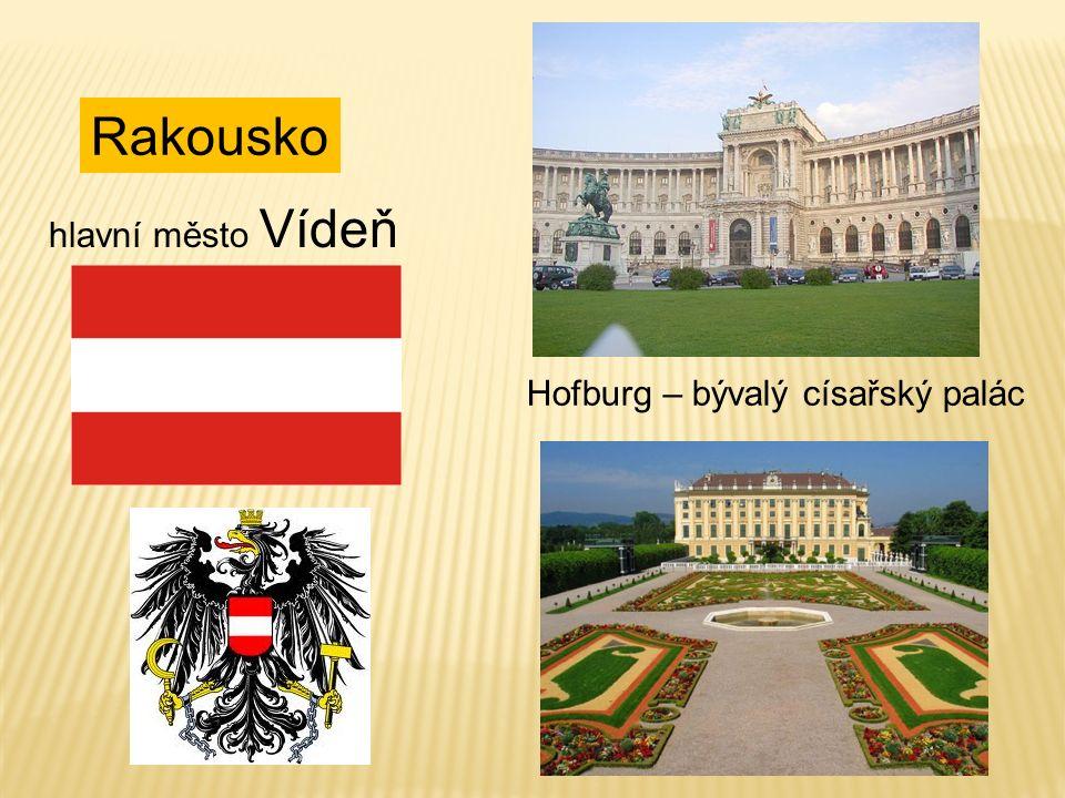Rakousko hlavní město Vídeň Hofburg – bývalý císařský palác