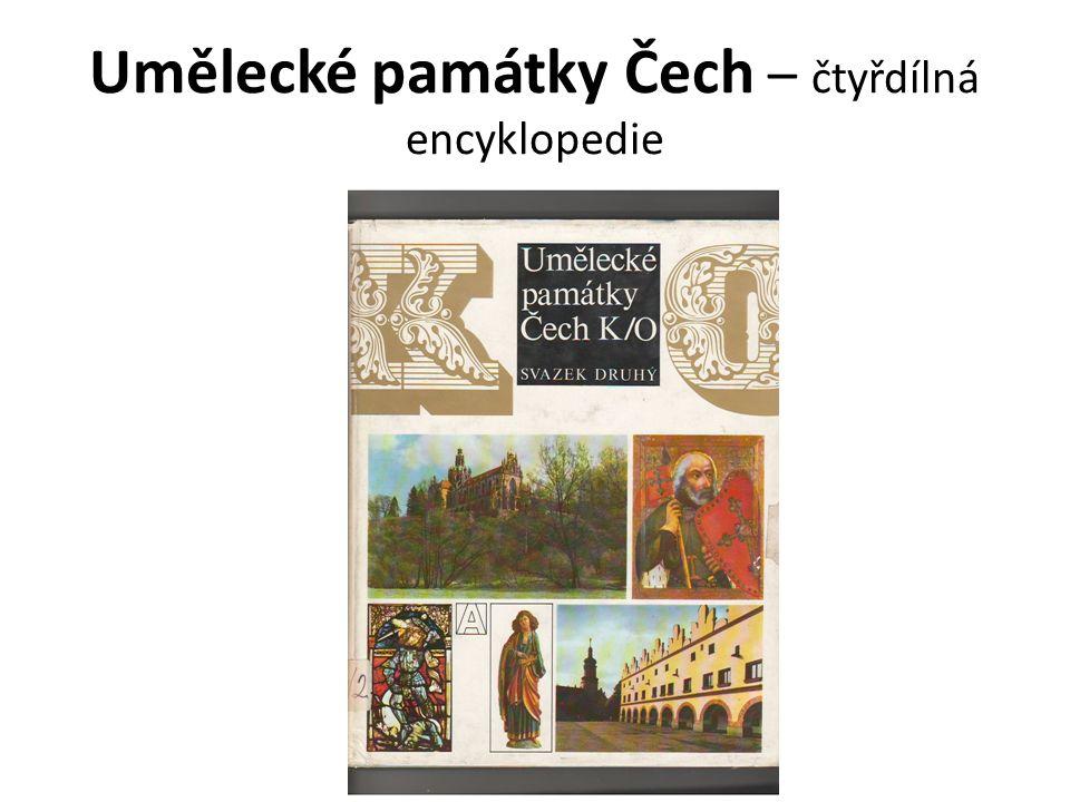 Umělecké památky Čech – čtyřdílná encyklopedie