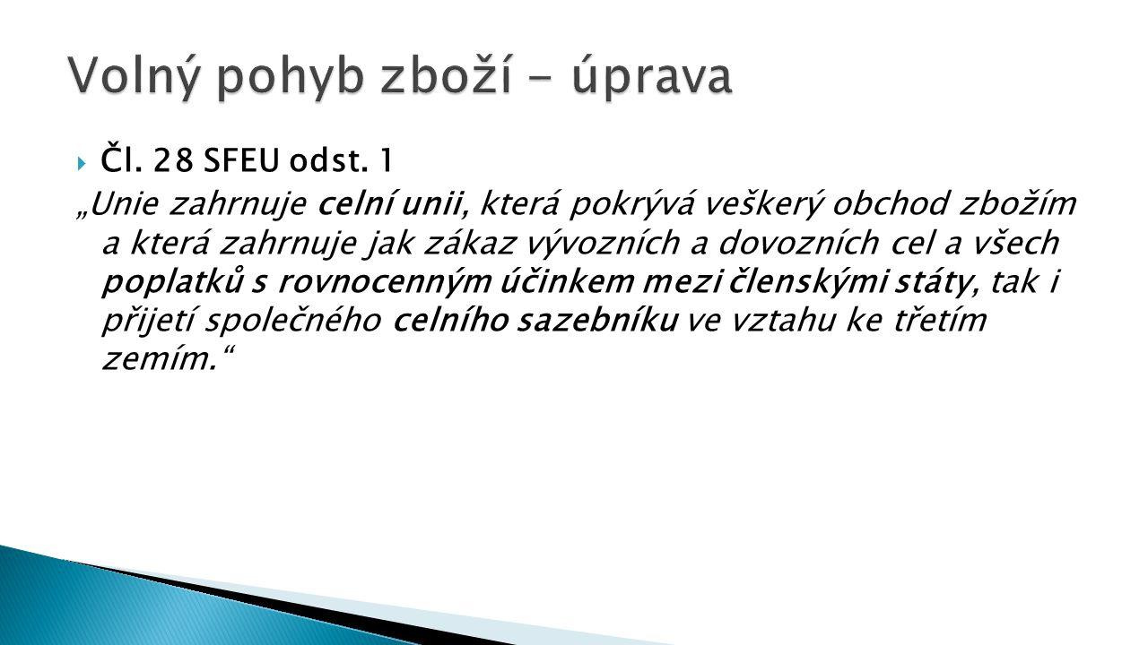  Čl. 28 SFEU odst.