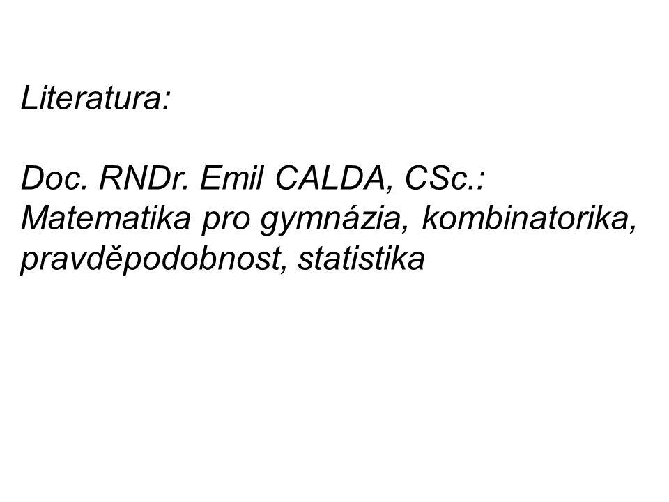 Literatura: Doc. RNDr.