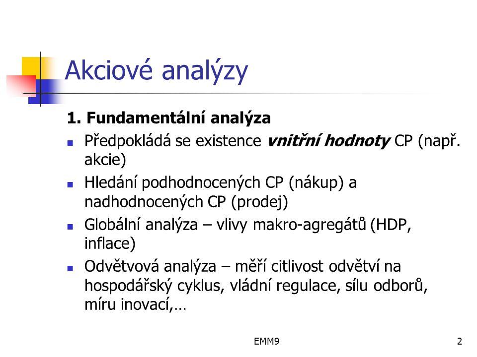 EMM93 Akciové analýzy 2.