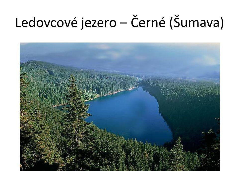Ledovcové jezero – Černé (Šumava)