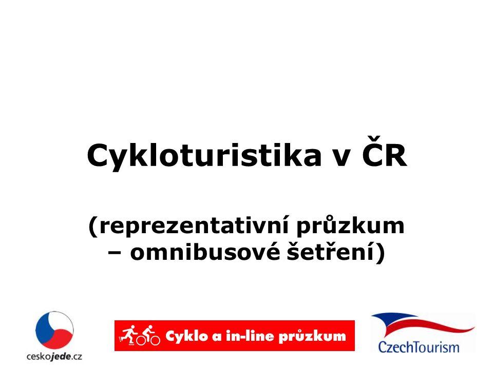 Cykloturistika v ČR (reprezentativní průzkum – omnibusové šetření)