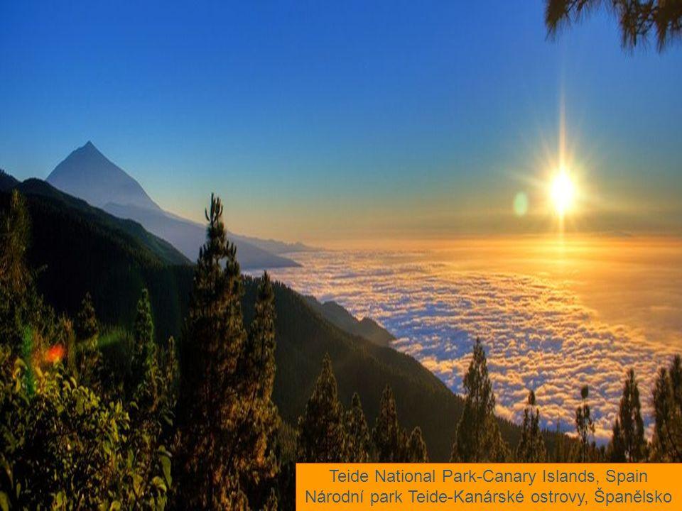 Teide National Park-Canary Islands, Spain Národní park Teide-Kanárské ostrovy, Španělsko