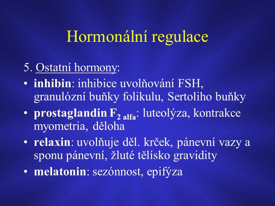 Hormonální regulace 5.