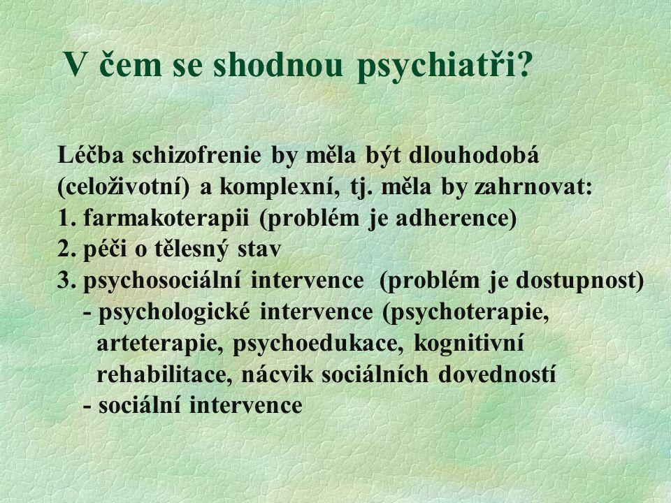V čem se shodnou psychiatři.