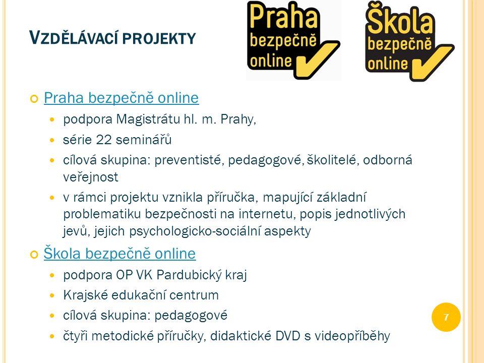 Praha bezpečně online podpora Magistrátu hl. m.