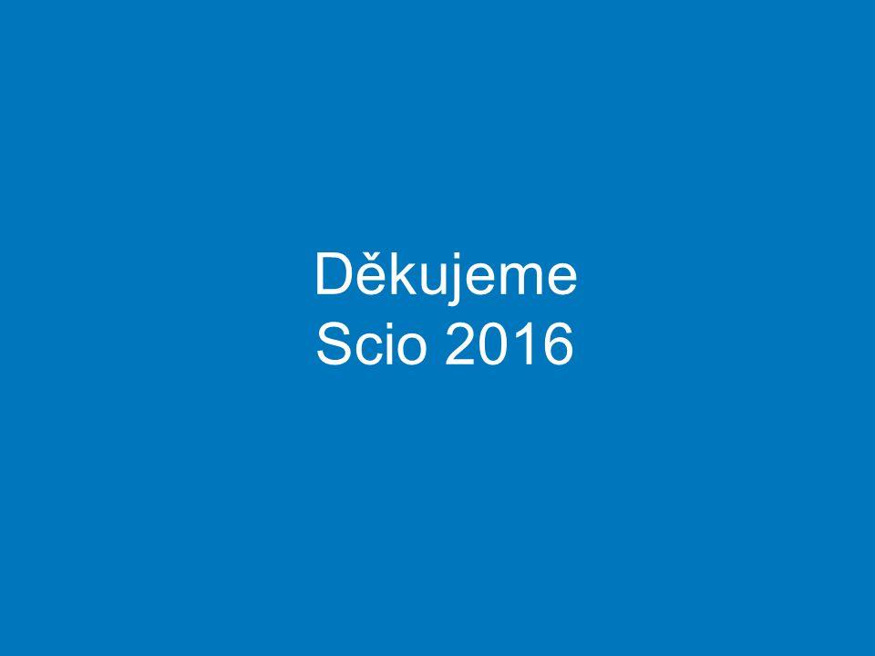 Děkujeme Scio 2016