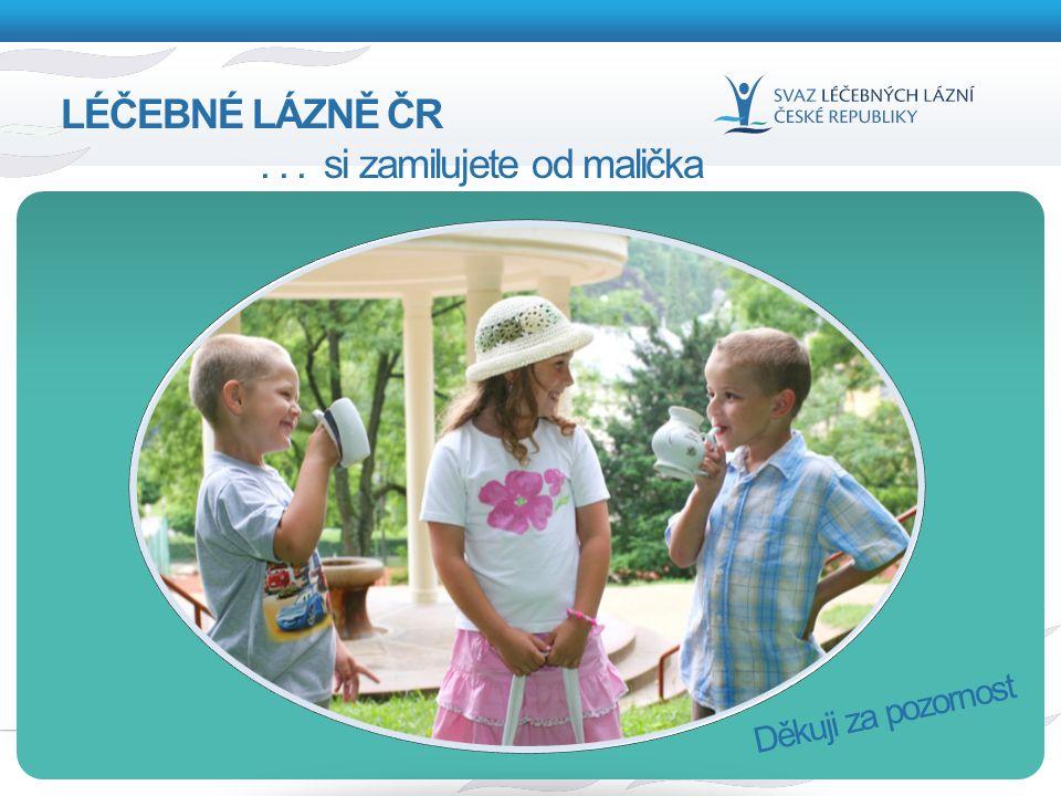 12 Děkuji za pozornost LÉČEBNÉ LÁZNĚ ČR... si zamilujete od malička