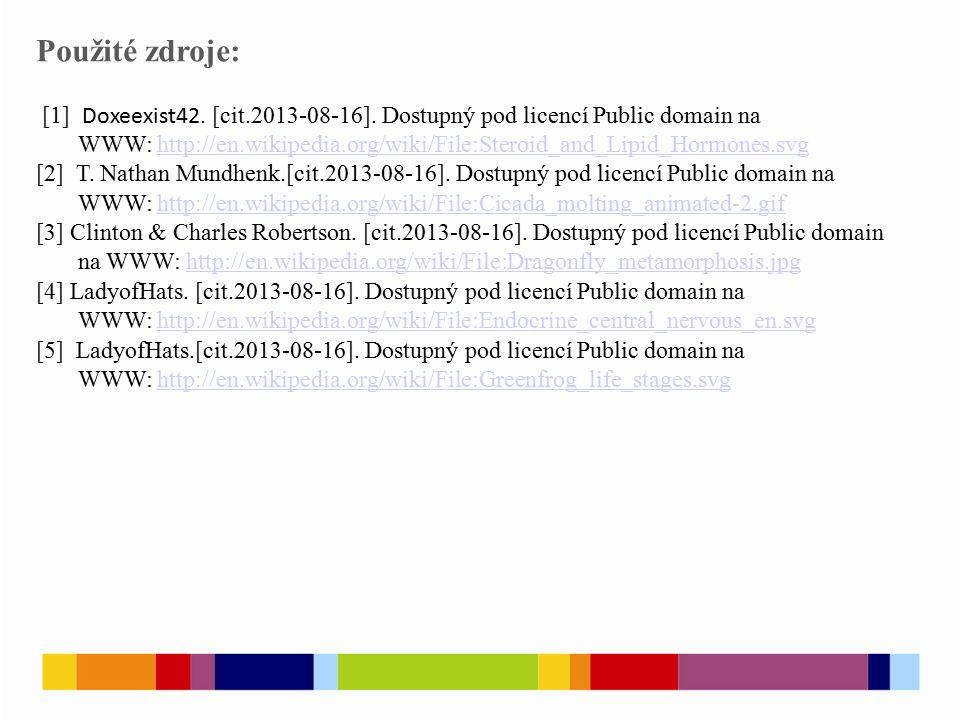 Použité zdroje: [1] Doxeexist42. [cit.2013-08-16].