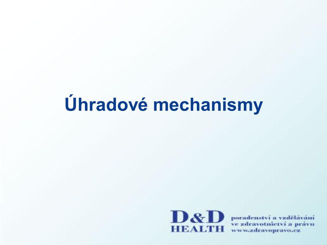 Úhradové mechanismy