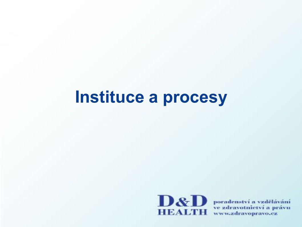 Instituce a procesy