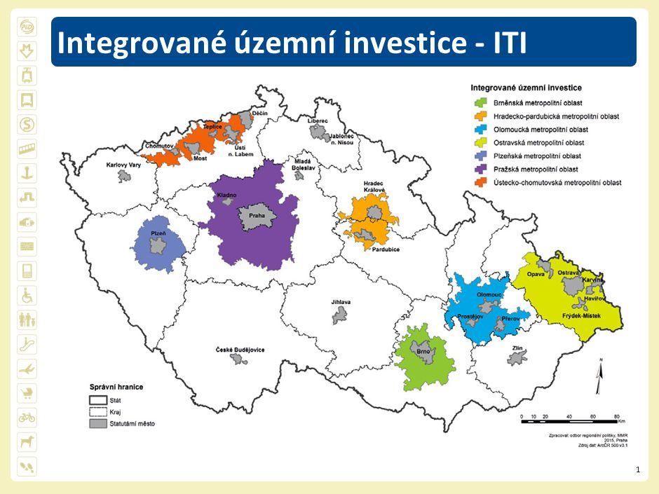 2 Integrovaná strategie pro ITI Pražské metropolitní oblasti