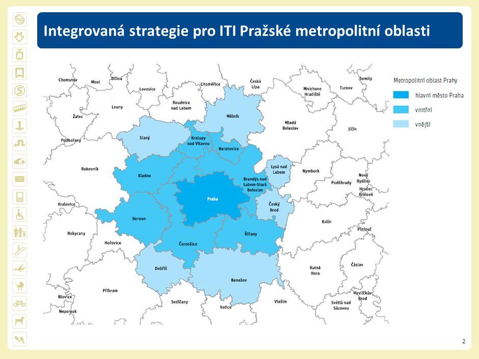 3 ITI Pražské metropolitní oblasti - projekty