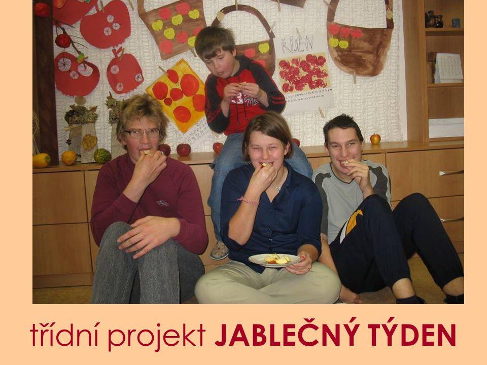 třídní projekt JABLEČNÝ TÝDEN