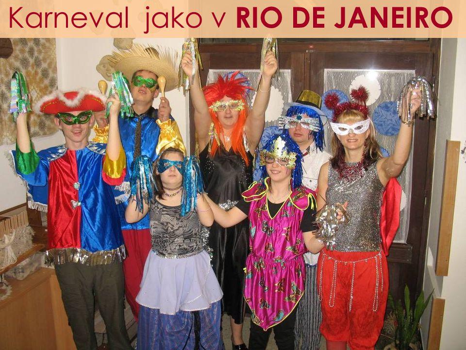 Karneval jako v RIO DE JANEIRO